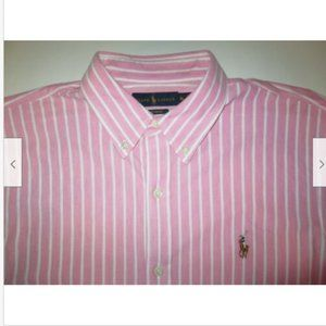 Polo Ralph Lauren Knit Oxford Button Shirt Mens XL